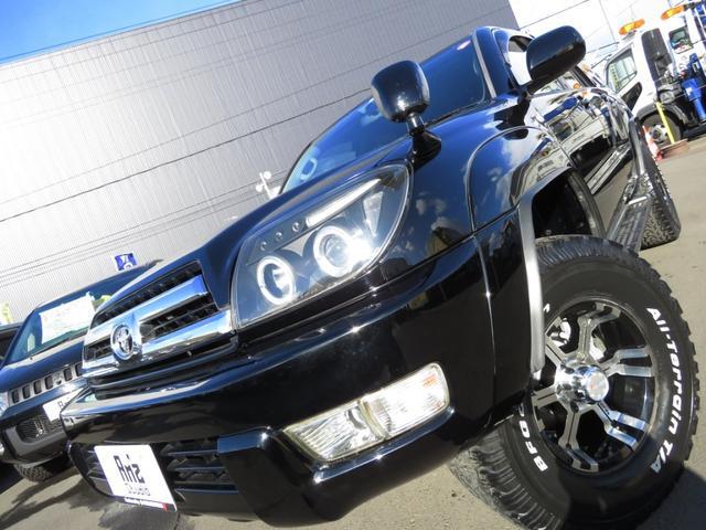 トヨタ ハイラックスサーフ SSR-G4WD BKインテリア 地デジナビ リフトUP