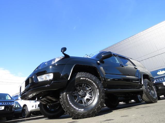 トヨタ ハイラックスサーフ SSR-X 4WD リフトUP AWタイヤ BKインテリア