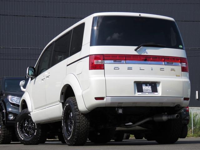 三菱 デリカD:5 Dパワーパック4WD 両側Pスラ NEWコンプリートカー