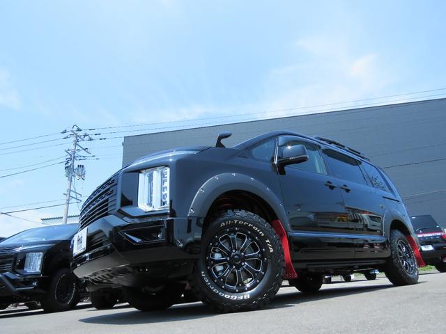 G パワーパッケージ 4WD AmzStudio BKエディション 1.2リフトUP キャンパー仕様  KADDISルーフラック 新品AWセット 純正サイドS レダクル衝突軽減 ステアリモコン Pゲート(2枚目)