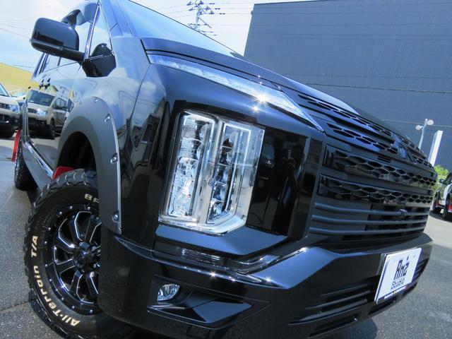 G パワーパッケージ 4WD AmzStudio BKエディション 1.2リフトUP キャンパー仕様  KADDISルーフラック 新品AWセット 純正サイドS レダクル衝突軽減 ステアリモコン Pゲート(4枚目)