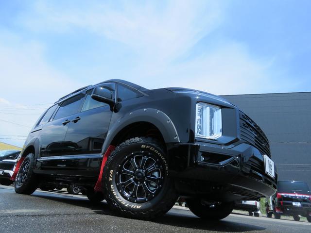 G パワーパッケージ 4WD AmzStudio BKエディション 1.2リフトUP キャンパー仕様  KADDISルーフラック 新品AWセット 純正サイドS レダクル衝突軽減 ステアリモコン Pゲート(5枚目)
