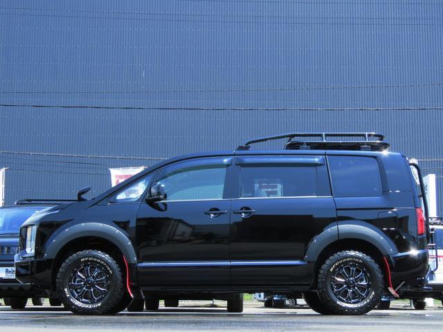 G パワーパッケージ 4WD AmzStudio BKエディション 1.2リフトUP キャンパー仕様  KADDISルーフラック 新品AWセット 純正サイドS レダクル衝突軽減 ステアリモコン Pゲート(15枚目)