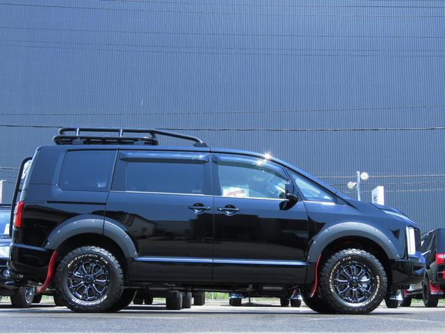 G パワーパッケージ 4WD AmzStudio BKエディション 1.2リフトUP キャンパー仕様  KADDISルーフラック 新品AWセット 純正サイドS レダクル衝突軽減 ステアリモコン Pゲート(16枚目)