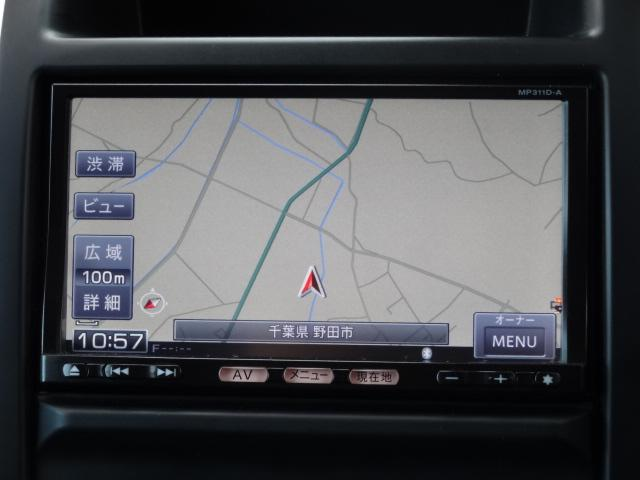 日産 エクストレイル 20GT 4WD ディーゼルターボ フルセグ対応純正SDナビ