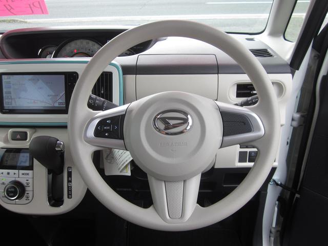 ダイハツ ムーヴキャンバス Gメイクアップ SA3 4WD Pモニター 両Pスライド