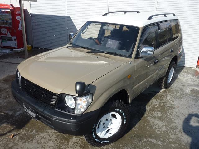 トヨタ ランドクルーザープラド TX LTD 4WDディーゼルTB ナロークラシックカスタム