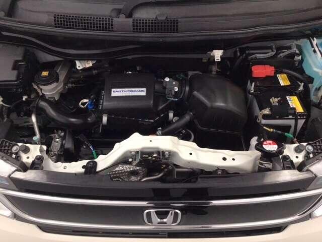 Hondaのレース技術を集めて作られたNシリーズのエンジン。しっかり清掃済みでピカピカです。お渡し前にきっちり点検整備を実施しております。