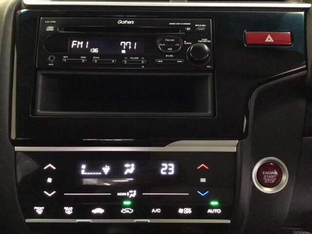 13G・Fパッケージ CDプレーヤー アイドルストップ 整備記録簿 横滑り防止機能 盗難防止装置 1オナ CDオーディオ オートエアコン ABS キーフリ スマートエントリー パワーウインドウ(8枚目)