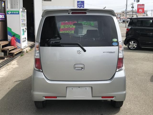 「スズキ」「ワゴンRスティングレー」「コンパクトカー」「秋田県」の中古車6