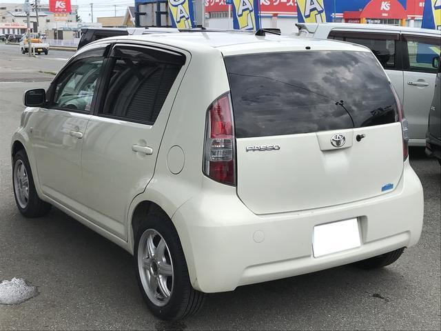 「トヨタ」「パッソ」「コンパクトカー」「秋田県」の中古車5