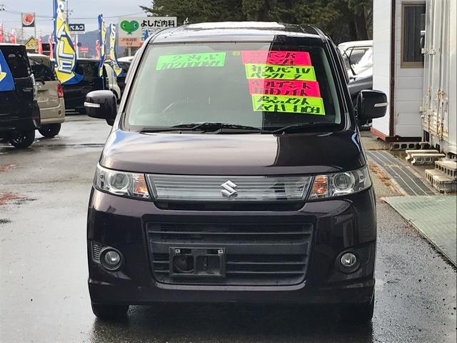 「スズキ」「ワゴンRスティングレー」「コンパクトカー」「秋田県」の中古車2
