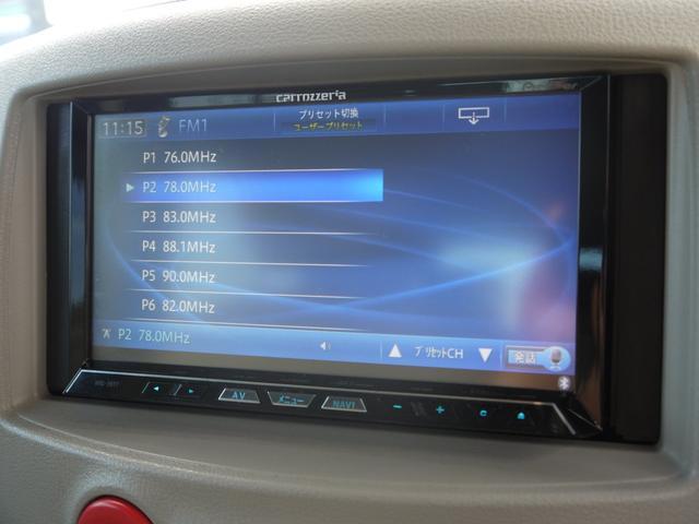 日産 キューブ 15X Vセレクション HDDナビ Bluetooth