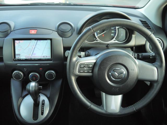 13-スカイアクティブ スカイアクティブ 社外メモリーナビ DVD CD ミュージックサーバー フルセグ LEDライト Bluetooth対応 オートエアコン アイドリングストップ 横滑り防止 電格ミラー 本革ステアリング(27枚目)