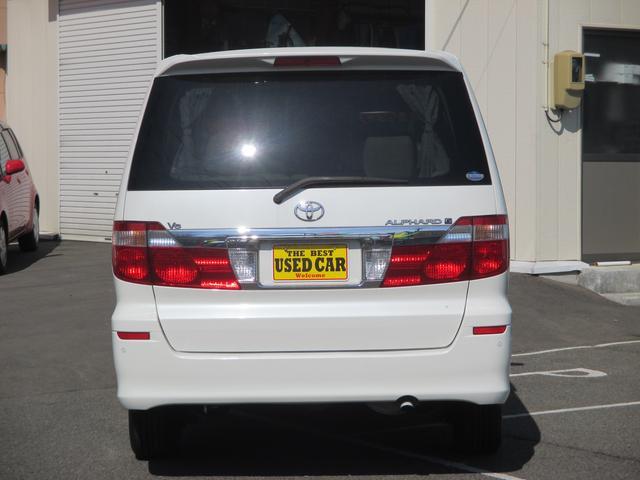トヨタ アルファードG MX Lエディション4WD 片側電動スライドドア HID