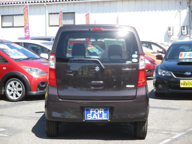 スズキ ワゴンR FX 4WD 社外ナビゲーション アイドリングストップ車