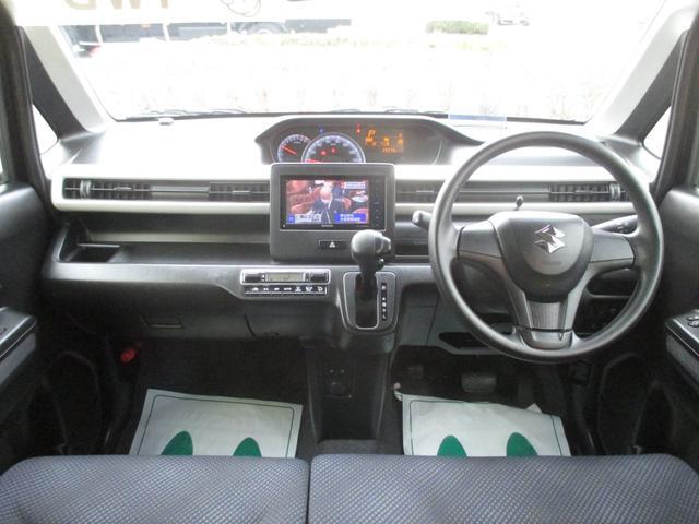 ハイブリッドFX 4WD ワンオーナー車 スズキセーフティパッケージ装着車 ヘッドアップディスプレイ ナビ地デジ バックカメラ シートヒーター 社外アルミホイール タイヤ新品装着済み(13枚目)