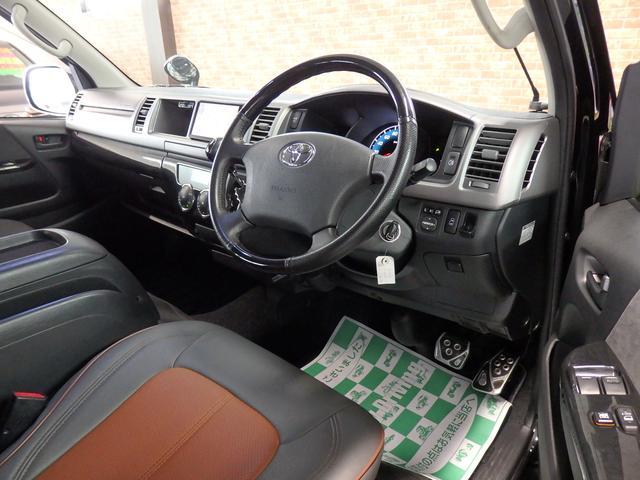 トヨタ ハイエースワゴン GL 4WD SDナビフルセグBカメラ フリップダウン
