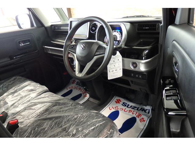 スズキ スペーシアカスタム ハイブリッドXS 4WD 両側パワースライド 届出済未使用車