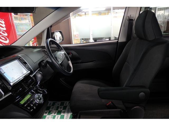 トヨタ エスティマ アエラス 4WD 11型後席ディスプレイ 寒冷地仕様 禁煙車
