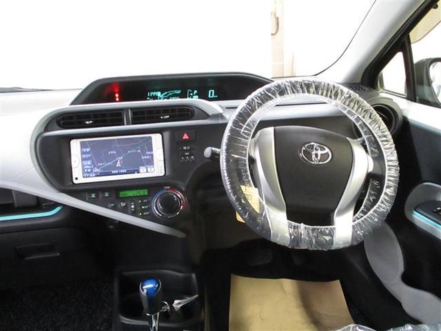 トヨタ アクア S メモリーナビ ワンセグTV