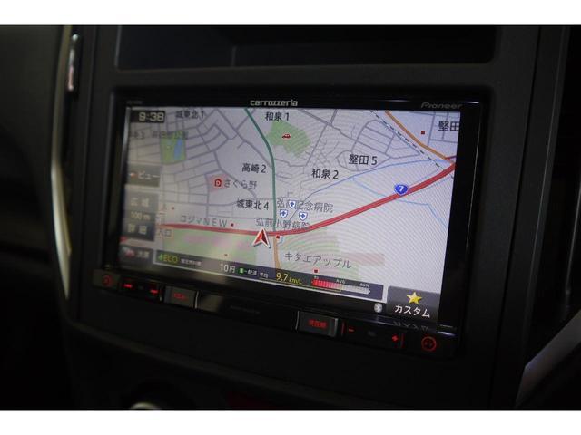 1.6i-L アイサイト カロッツェリアメモリーナビ フルセグ LEDオートライト ステアリング連動ヘッドランプ クルーズコントロール 純正17インチAW(23枚目)