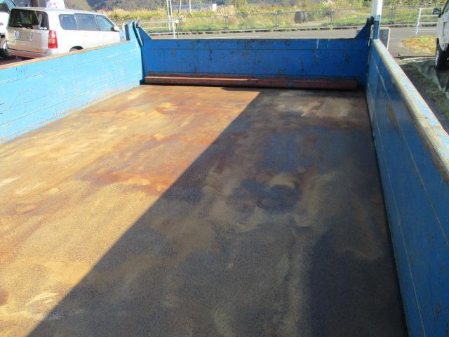 三菱ふそう キャンター 全低床ダンプ支柱ナシ2t積