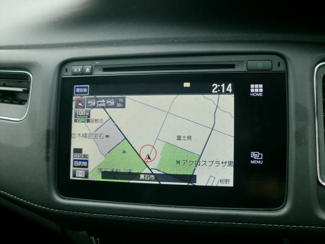 ホンダ ヴェゼル ハイブリッドX4WDアイドリングストップクルーズコントロール