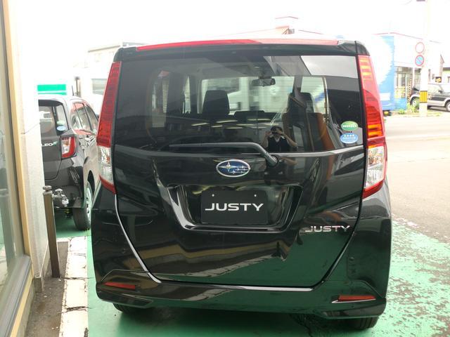 スバル ジャスティ 1.0L スマートアシスト 4WD アイドリングストップ