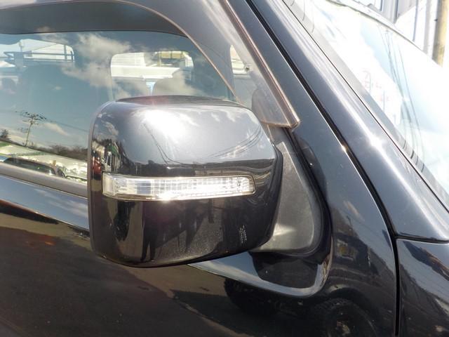 ミラーウインカー付き。これで対向車からの安全確保も出来ますね。