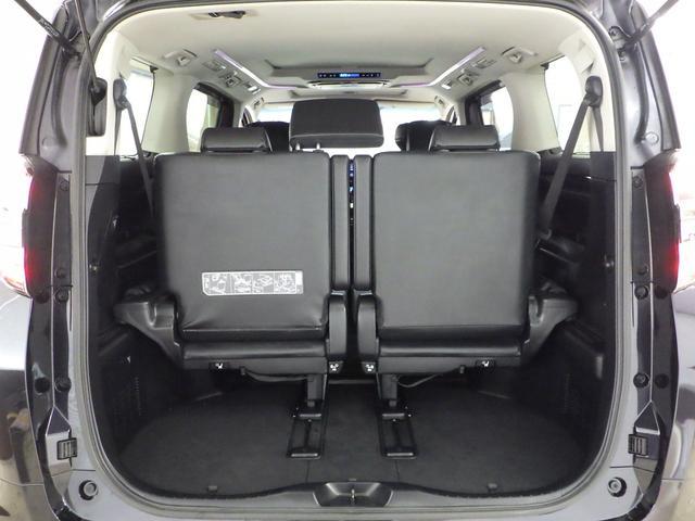 ZR Gエディション 4WD ワンオーナー車 サンルーフ 黒革エアーシート アルパイン11インチナビフルセグ&フリップダウンモニター バックカメラ 両側パワースライドドア パワーバックドア トヨタセーフティセンス(22枚目)