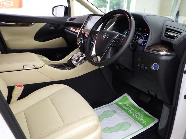 G Fパッケージ 4WD ワンオーナー車 メーカーOP10.5インチナビフルセグ リヤエンターテイメントシステム パノラミックビューモニター ベージュ革エアーシート 3眼ヘッドライト トヨタセーフティセンス(7枚目)