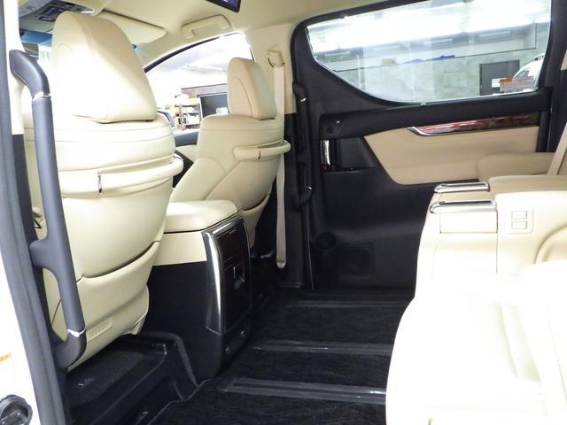 G Fパッケージ 4WD ワンオーナー車 メーカーOP10.5インチナビフルセグ リヤエンターテイメントシステム パノラミックビューモニター ベージュ革エアーシート 3眼ヘッドライト トヨタセーフティセンス(14枚目)