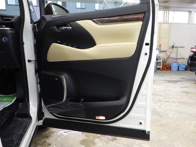 G Fパッケージ 4WD ワンオーナー車 メーカーOP10.5インチナビフルセグ リヤエンターテイメントシステム パノラミックビューモニター ベージュ革エアーシート 3眼ヘッドライト トヨタセーフティセンス(68枚目)