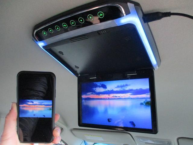 GエアロHDDナビスペシャルパッケージ 後期型 純正エアロ マナレイ18インチAW HDDナビ フリップダウンモニター バックカメラ 両側電動スライドドア HIDライト フォグ ETC ミラーウィンカー(28枚目)