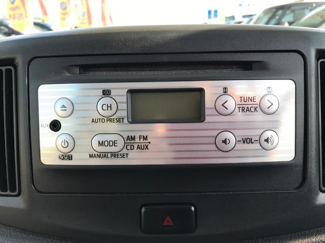 ダイハツ ミライース X 2WD インパネオートマ 純正オーディオ ETC SRS