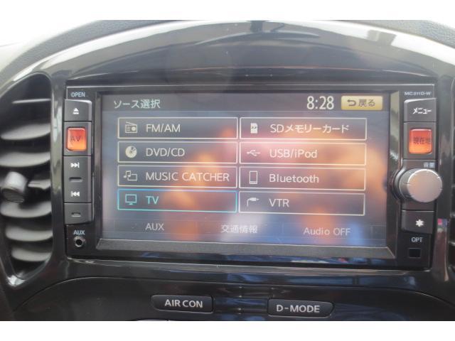 日産 ジューク 16GT FOUR 4WD ナビ Bカメラ HID