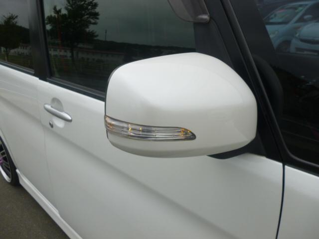 ダイハツ タント カスタムXLTD RS-R車高調 HDDナビTV 左パワスラ