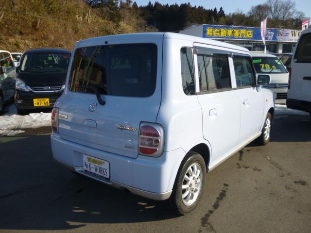 マツダ スピアーノ XF 4WD シートヒーター