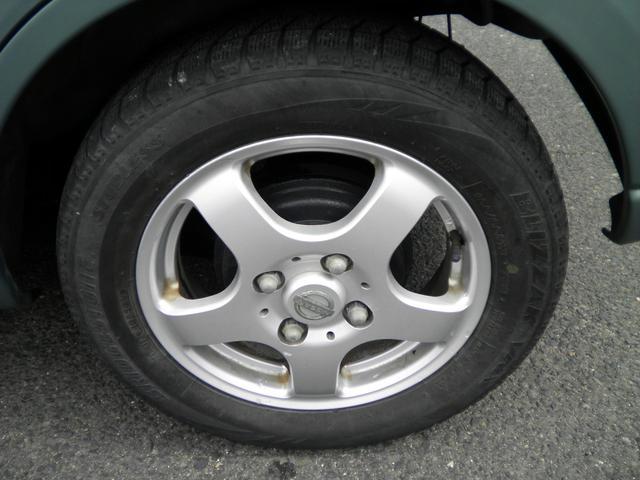 E FOUR 4WD アルミホイール CD キーレス シートヒーター ABS エアバック(12枚目)
