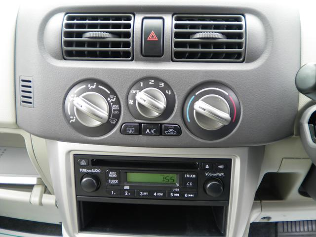 E FOUR 4WD アルミホイール CD キーレス シートヒーター ABS エアバック(21枚目)