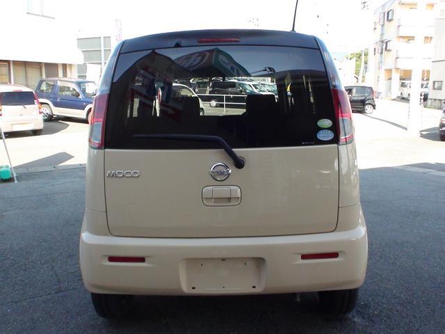 日産 モコ S FOUR 4WD キーレス ベンチシート ABS