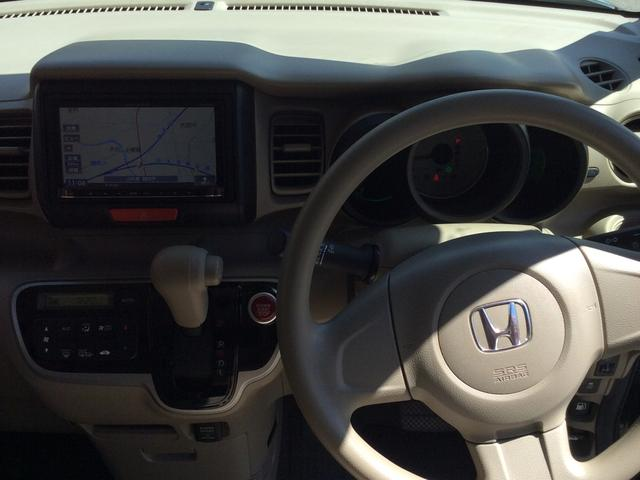 ホンダ N BOX G 4WD 社外ナビ