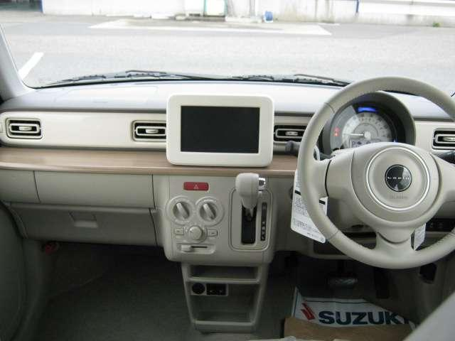 スズキ アルトラパン S 4WD ブレーキサポート キーレス 届出済未使用車