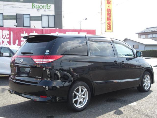 トヨタ エスティマ アエラス 4WD 両側パワスラ フルセグHDDナビ
