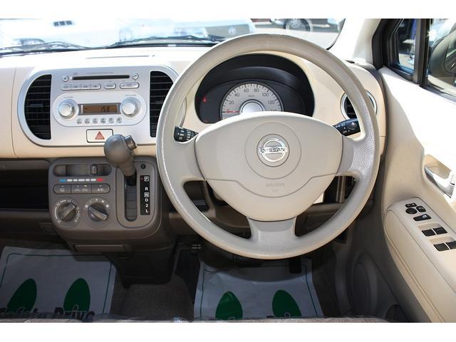 日産 モコ S ABS エアバック 純正CD キーレス ベンチシート