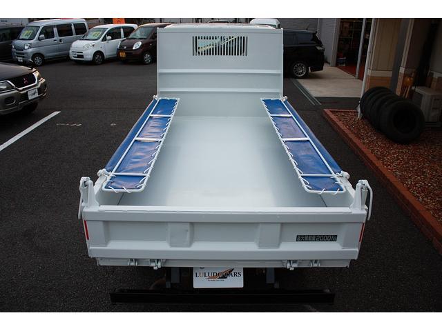 三菱ふそう キャンター 全低床ダンプ2ダンプ 5MT エアバック ABS キーレス