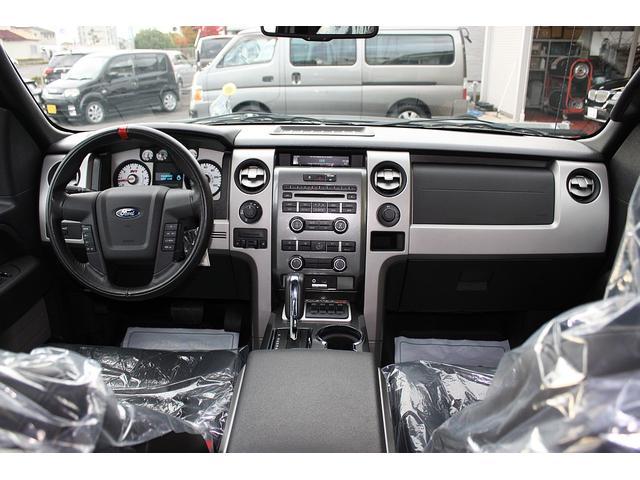STVラプター スーパーキャブ 4WD 黒革シート 新並(2枚目)