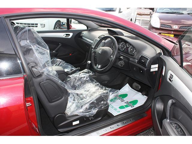 クーペ 407 右ハンドル HDDナビ 黒革シート 禁煙車(16枚目)