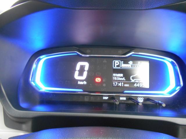 エコカーならでは見やすいデジタルメーターです!